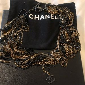 100% authentic Chanel multilayer necklace